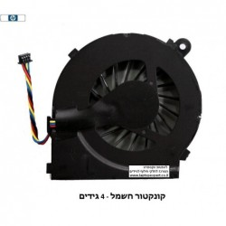 מאוורר למחשב נייד HP Pavilion g4-1000 g6-1000 g7-1000 series CPU cooling fan 3/ 4 wires - 1 -