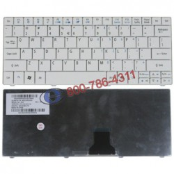 החלפת מקלדת למחשב נייד אייסר Acer Aspire One 521 , 751 , 751H , ZA3 , 1410 , 1810T Laptop Keyboard AEZA3E00020 9Z.N3C82.20U - 1