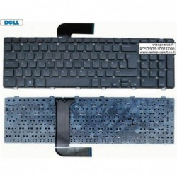 החלפת מקלדת למחשב נייד דל Dell Inspiron 17R 7720 / 5720  Laptop Keyboard - Non-Backlit - 8XN0P , YXKXY - 1 -