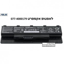 סוללה מקורית למחשב נייד אסוס  Asus N46 N46V N46VM N46VZ N56 N56V N56VJ N56VM N56VZ A32-N56 A31-N56 Battery - 6 Cell - 1 -