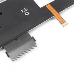 מקלדת להחלפה במחשב נייד דל - מוארת צבע כסוף Dell XPS 14Z L412z 15z / L511z laptop US Keyboard Backlit Silver MP-10K83U4J9201 - 2