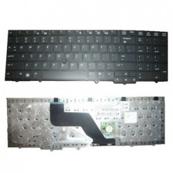 מקלדת למחשב נייד HP EliteBook 8540p 8540w Keyboard include tracking mouse 595790-001 - 1 -