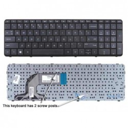 מקלדת למחשב נייד HP Pavilion 15-E000, 15-N000, 15-N100, 15-N000 Touchsmart Laptop Keyboard - 719853-BB1 719853-001 - 1 -