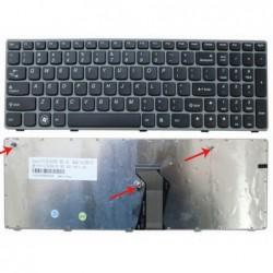 מקלדת להחלפה במחשב נייד לנובו Lenovo IdeaPad Z560 Keyboard 25-010793, V-117020AS1, V-117020AS1-US - 1 -