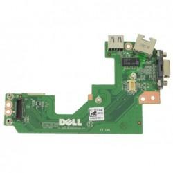 החלפת כרטיס שקע טעינה במחשב נייד דל Dell Latitude E5520 VGA / USB / RJ-45 IO Circuit Board - 32PGC - 1 -