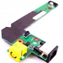 כרטיס שקע טעינה למחשב נייד לנובו כולל יציאת רשת Lenovo Thinkpad Edge E420 E425 E520 E525 DC-In Sub Jack LAN Board Card - 1 -