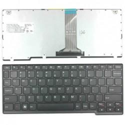 מקלדת להחלפה במחשב נייד לנובו Keyboard for Lenovo IdeaPad S110 S205 S206 25201756 - 1 -