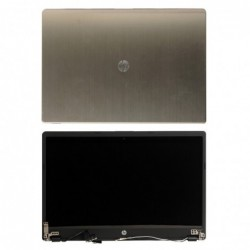 "קיט מסך להחלפה במחשב HP Folio 13 672350-001 13.3"" WXGA LED LCD Silver screen Assembly A9M20PA - 1 -"