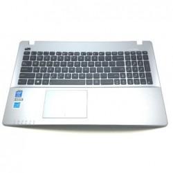 תושבת פלסטיק עליונה כולל מקלדת ועכבר מגע למחשב אסוס Asus X550CA 15.6 Palmrest Touchpad Keyboard 13NB00T1AP1211 13N0-PEA0Q11 - 1