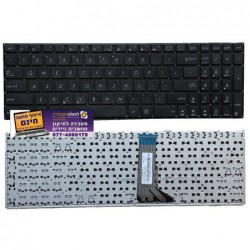 מקלדת למחשב אסוס ASUS A553 D553 X551 X551CA X551MA X553 X555  R513 P551 Black US Version - 1 -