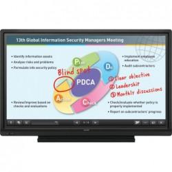 לוח חכם אינטראקטיבי שארפ בגודל 60 אינטש Sharp Touch Screen AQUOS BOARD PN-60TA3 - 1 -