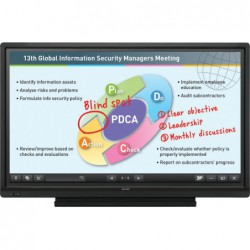 לוח חכם אינטראקטיבי שארפ בגודל 60 אינטש Sharp Touch Screen AQUOS BOARD PN60TB3 - 1 -