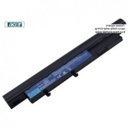 סוללה מקורית אייסר 6 תאים Acer Aspire Timeline 3810T 4810T 5810T Laptop 6 Cell battery AS09D56 , AS09D70 , AS09D34 - 1 -
