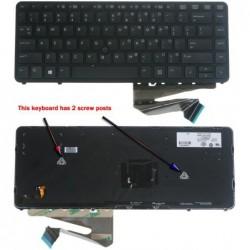 החלפת מקלדת למחשב נייד HP Elitebook 840 850 ZBook 14 Backlit Keyboard - 1 -
