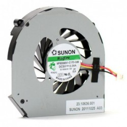 מאוורר למחשב נייד דל Dell Vostro 3300 3350 CPU Cooling Fan - 1 -