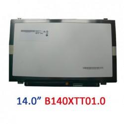 מסך כולל יחידת דיגיטייזר מגע למחשב נייד HP touchsmart laptop LCD Screen LED Touch Display B140XTT01.0 for 14-N055SA - 1 -