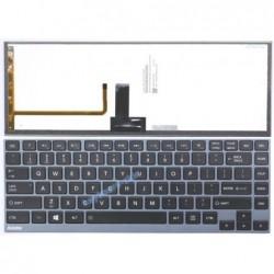 מקלדת למחשב נייד טושיבה רקע כחול Toshiba U800 / U900 / Z830/ Z930 - Regatta Blue Keyboard - 1 -