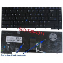 החלפת מקלדת למחשב נייד Compaq Presario HP Business 8510P Laptop Keyboard  452228-001 , 452229-001 , 451020-001 - 1 -