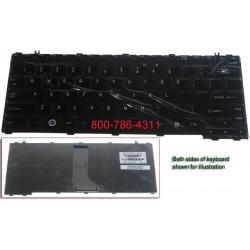 מקלדת לנייד טושיבה - מעבדת מחשבים מרכזית Toshiba Satellite U405 U400 A600 M800 Keybaord 9J.N9082.W01 445588-001 NSK-H4A01 - 1 -