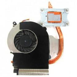 גוף קירור כולל מאוורר למחשב נייד HP Laptop CPU Fan CQ43 430 / 431 / 435 / 436 CQ57 630 631 CPU Cooling fan - 1 -