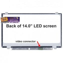 החלפת מסך למחשב נייד דל Dell Inspiron 14 5458 / Latitude E7440 WXGA HD LCD Widescreen - Glossy - 17WNW - 1 -