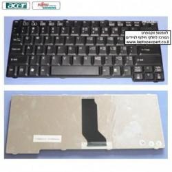 מקלדת לנייד אייסר תאימות לפוגיטסו Acer Travelmate 230 / Fujitsu Siemens M7400 Laptop Keyboard K 051305E1 , KB-FU-003 - 1 -