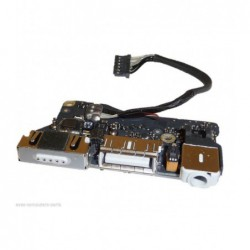 "שקע טעינה למקבוק אייר Apple MacBook Air 13"" A1466 (2013) magsafe charging board P/N: 820-3455-A - 1 -"