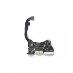 "שקע טעינה למקבוק אייר Apple MacBook Air 11"" A1465 (2012) magsafe charging board P/N: 820-3213-A - 1 -"