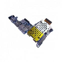 כרטיס שקע טעינה / אודיו לתיקון במחשב מקבוק Apple Macbook Pro A1226 Usb Audio Dc Power Board 820-2102-A - 1 -
