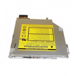"צורב למחשב מקבוק  Apple Macbook Pro A1226 15"" 2007 IDE Slim Slot Load DVD Drive w/ Cable 678-0557A - 1 -"