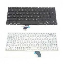 החלפת מקלדת מקורית למחשב נייד אפל מקבוק פרו Macbook Pro A1502 US Keyboard ME864LL/A ME866LL/A - 1 -