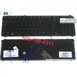 החלפת מקלדת למחשב נייד HP Pavilion DV6 Laptop Keyboard 511885-001 , 574261-001 , 530580-031 ,  AEUT3U00040 - 1 -