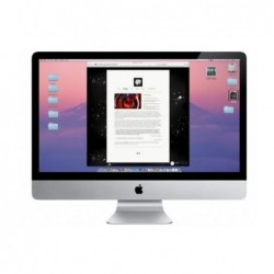 "מחשב איימק למכירה iMac 27"" I5 3.4Hz / 1TB HD / 8GB RAM / NVIDIA GeForce GT 755M 2GB MEM - 1 -"