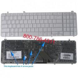 החלפת מקלדת למחשב נייד HP Pavilion DV6 Laptop Keyboard 511885-001 , 574261-001 , 530580-031 ,  AEUT3U00040 - 3 -