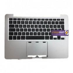 תושבת עליונה למחשב מקבוק פרו כולל מקלדת Apple Macbook Pro Retina A1502 Top Case Palmrest with US Keyboard - 1 -