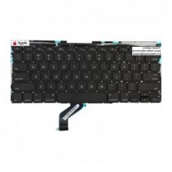החלפת מקלדת למחשב נייד אפל מקבוק רטינה Apple Macbook Pro Retina 13 A1425 keyboard replacment - 1 -