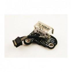החלפת שקע טעינה מגנטי למחשב נייד אפל מקבוק Apple A1342 Macbook Magsafe DC Jack 820-2627-A - 1 -