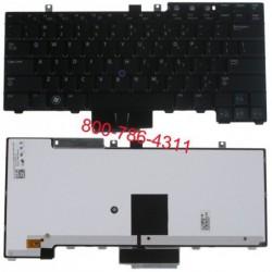 החלפת מקלדת למחשב נייד דל Dell Latitude E5300 / E5400 / E5500 Laptop Keyboard HT514, FM753, NSK-DBA01 - 1 -