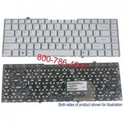 מקלדת למחשב נייד סוני - צבע לבן SONY VGN FW Keyboard 148084521 / 9J.N0U82.001 / 81-31105002-03 - 1 -