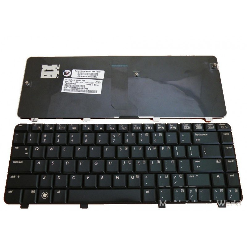 HP Compaq CQ61 מקלדת למחשב נייד מסדרת