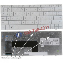 החלפת מקלדת למחשב נייד HP MINI 110 Laptop Keyboard 533549-001 - 2 -