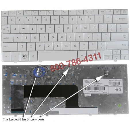 מקלדת למחשב נייד טושיבה Toshiba Satellite P200 / P305 Laptop Keyboard MP-06873US-9204, AEBD3U00150-US