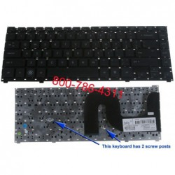 החלפת מקלדת למחשב נייד HP Probook 4310S 4311S Laptop Keyboard 535308-001 MP-08H93US-9301 - 1 -