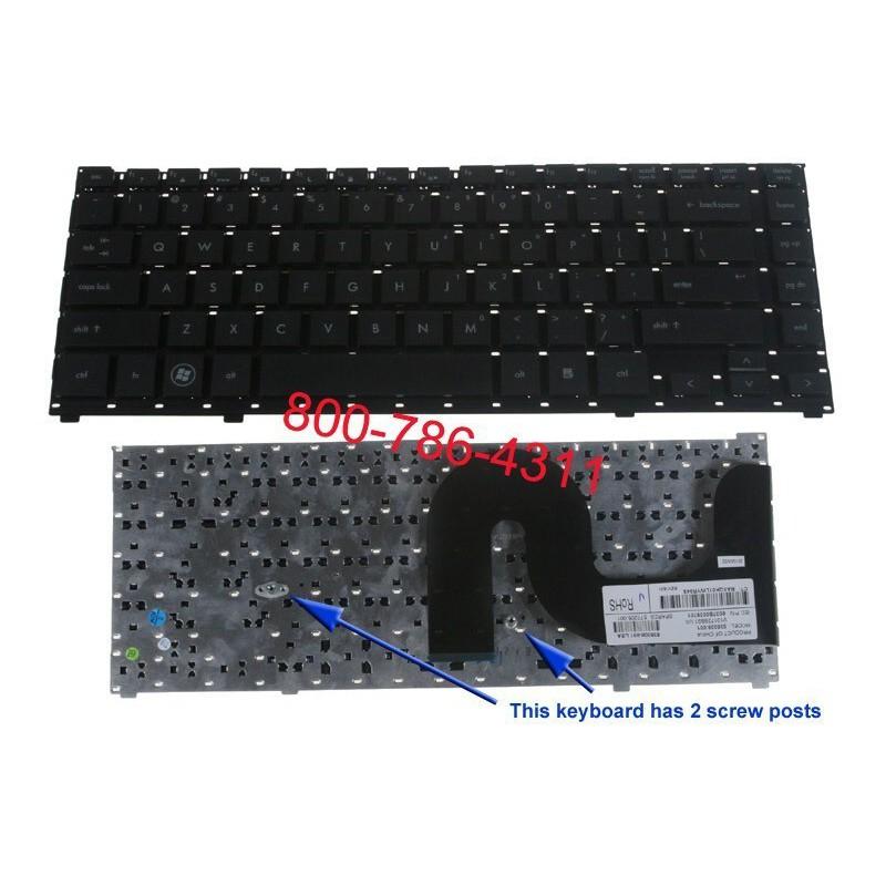 سلسلة HP Probook 4710S الكمبيوتر المحمول لوحة المفاتيح