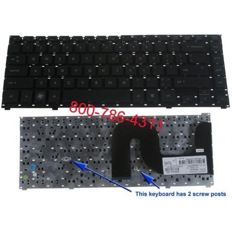 """استبدال أجهزة الكمبيوتر المحمول لوحة المفاتيح HP Probook 4510S، 4515S/4700/4750s """"الكمبيوتر المحمول"""" لوحة المفاتيح 4710s/516884"""