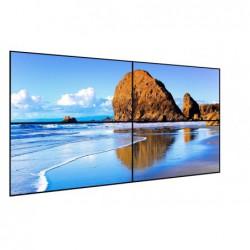 קיר וידאו 4 מסכים פאנל חברת סמסונג כולל מתקן התקנה הידרואלי DID 46 intch Video Wall Led Screen - 1 -