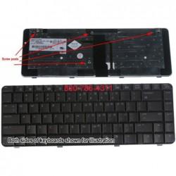 החלפת מקלדת למחשב נייד HP / Compaq DV3500 Series - 1 -