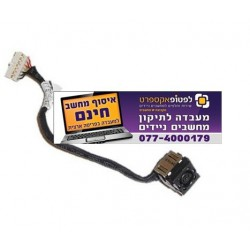 שקע טעינה למחשב נייד דל Dell Inspiron 5421/ 5437 3421 / 3437 DC Jack Plug with Cable 73W6G - JRHPG - 1 -