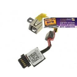 שקע מטען  להחלפה במחשב נייד Dell XPS 13 9343 9350 DC Power Input Jack with Cable - 0P7G3 - 1 -