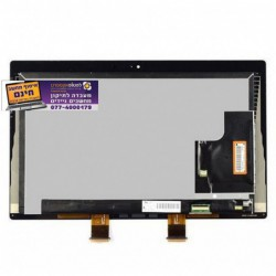 החלפת מסך מגע למיקרוסופט סרפס Microsoft surface PRO 2 1601 LTL106HL01-001 touch screen replacement assembly - 1 -